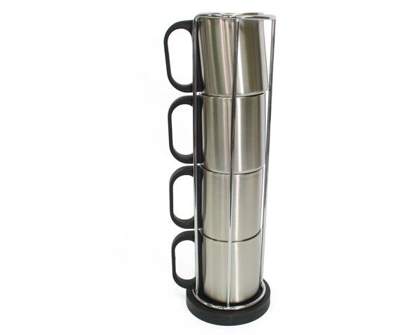 Thermo Mug Stainless Steel Set 230ml 1