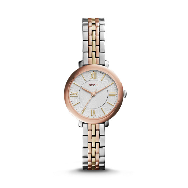 Fossil Women's ES3847 Jacqueline Small Three-Hand Two-Tone Stainless Steel Watch 1