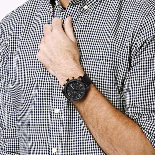 Fossil Nate Mens Watch - JR1354 4