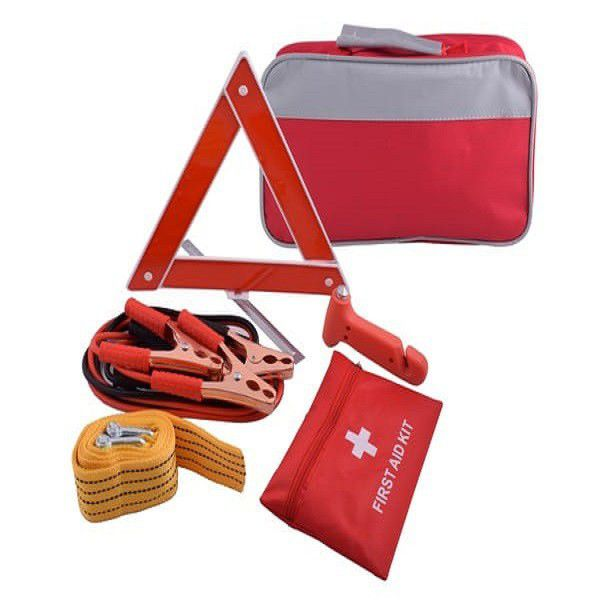 Roadside Emergency Kit Red/Grey 1