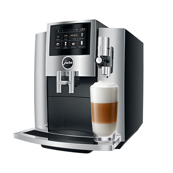 Jura S8 Automatic Touchscreen Bean to Cup Coffee Machine with smart connect 2