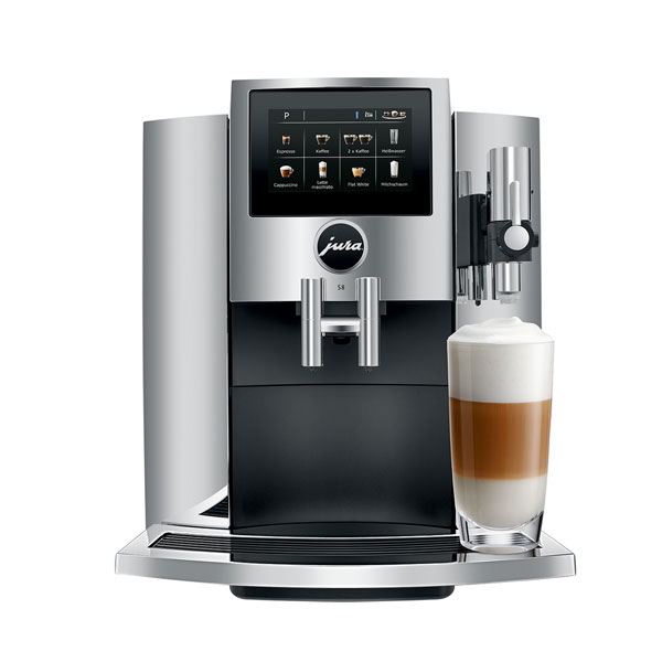 Jura S8 Automatic Touchscreen Bean to Cup Coffee Machine with smart connect 1