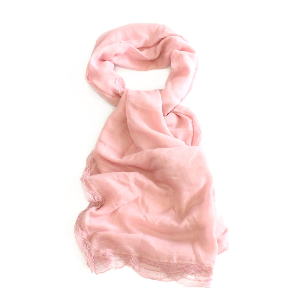 Ladies Kierstin Lace Scarf - Sunburn 1