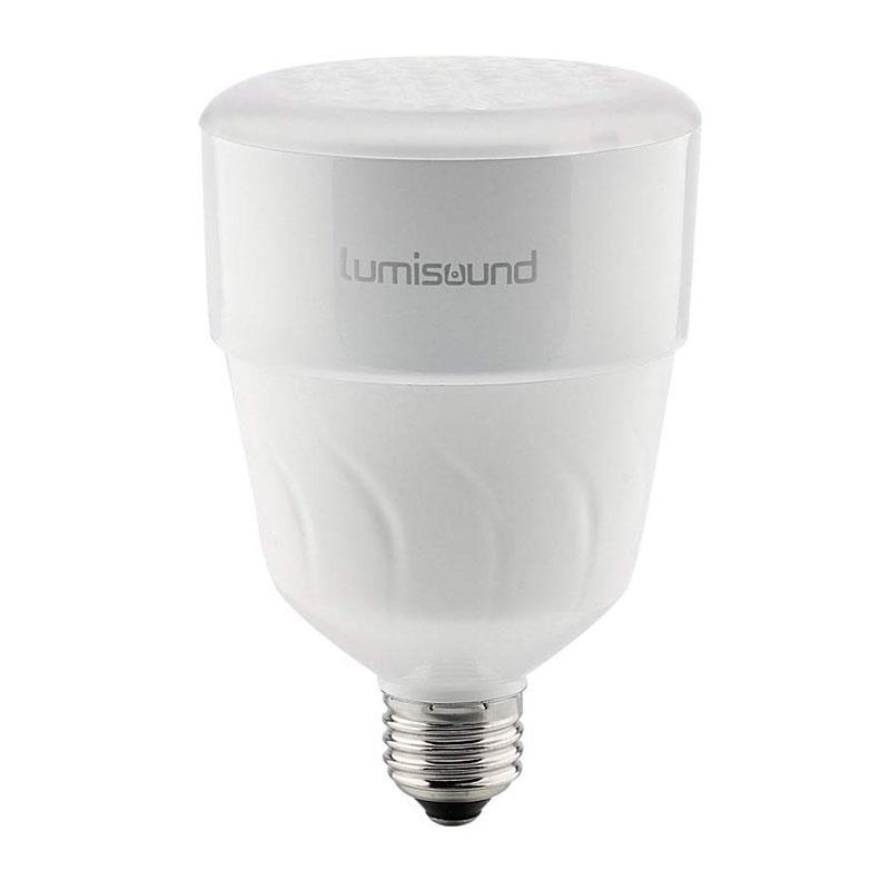 Lumisound LMS-40 LED Wireless Bulb Speaker Compatible with Spotify & Pandora 1