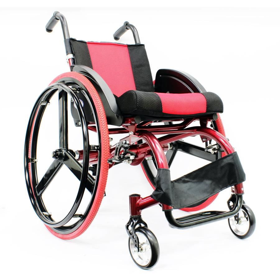 High-strength Sports Wheelchair - Ultra-light Magnesium Alloy 1