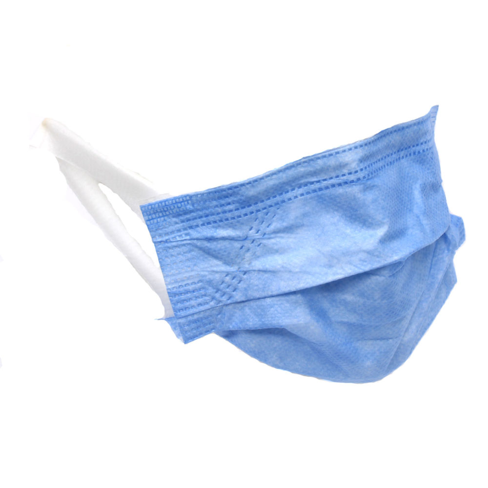 Clinisure 3 Ply Disposable Face Masks - 50 Pack - Proudly South African 2