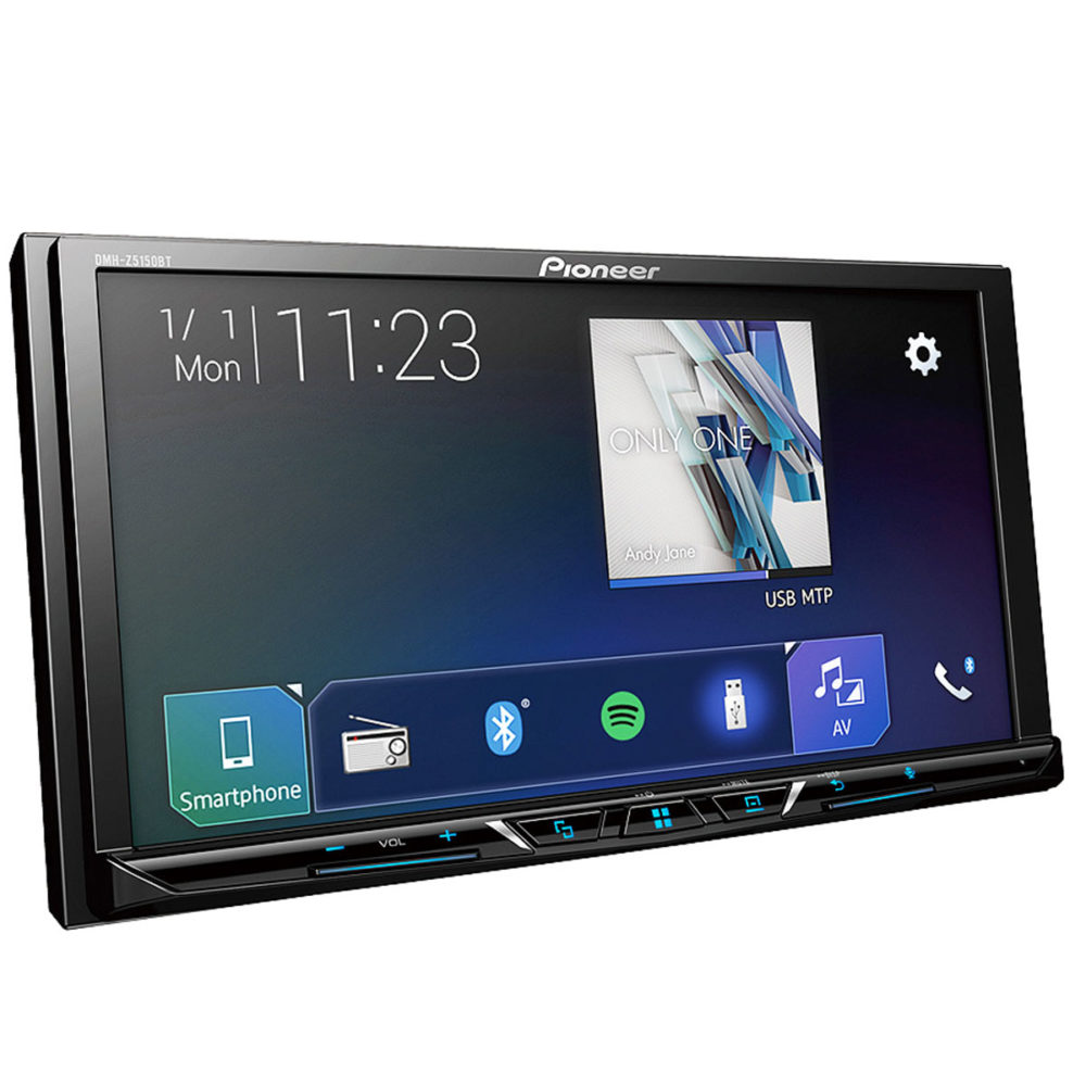 Pioneer DMH-Z5150BT Multimedia with Apple CarPlay, Android Auto & Bluetooth 1