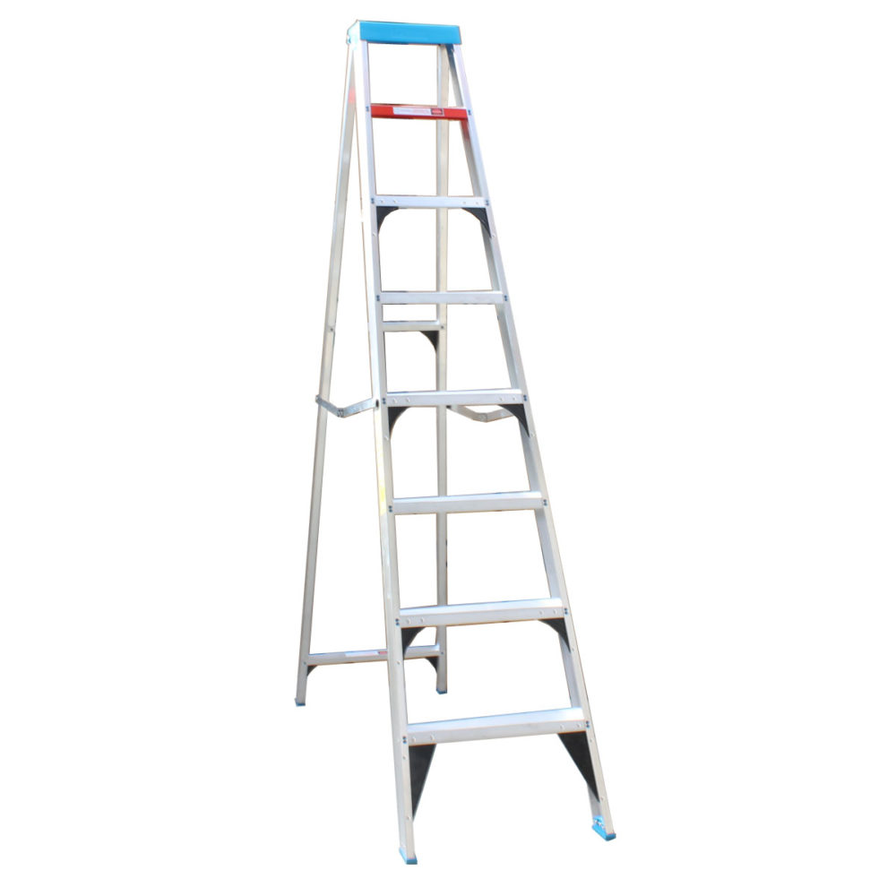ValuStep Industrial Aluminium Step Ladder - 8 Steps 1