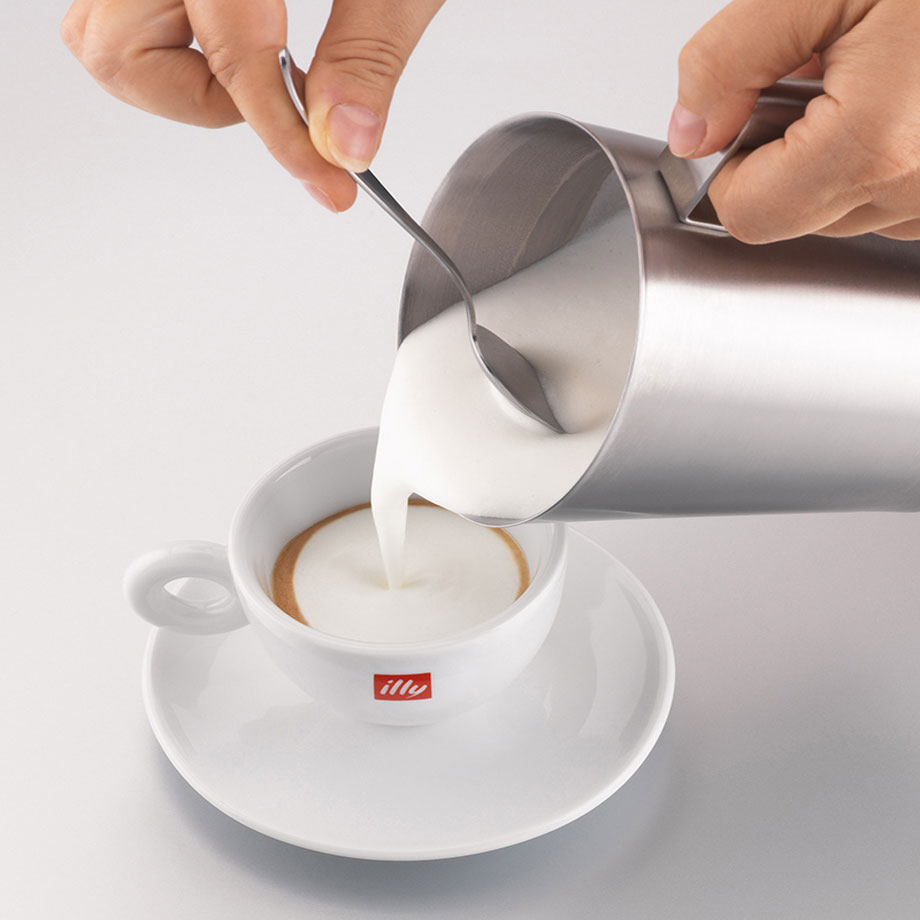 Unboxed illy Caffe Stainless Steel 250ml Milk Frother - 0043 2