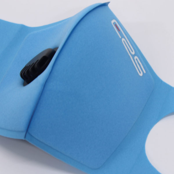 ERS - Respiratory Systems - Reusable Washable Respiratory Valve Face Mask - Blue 3