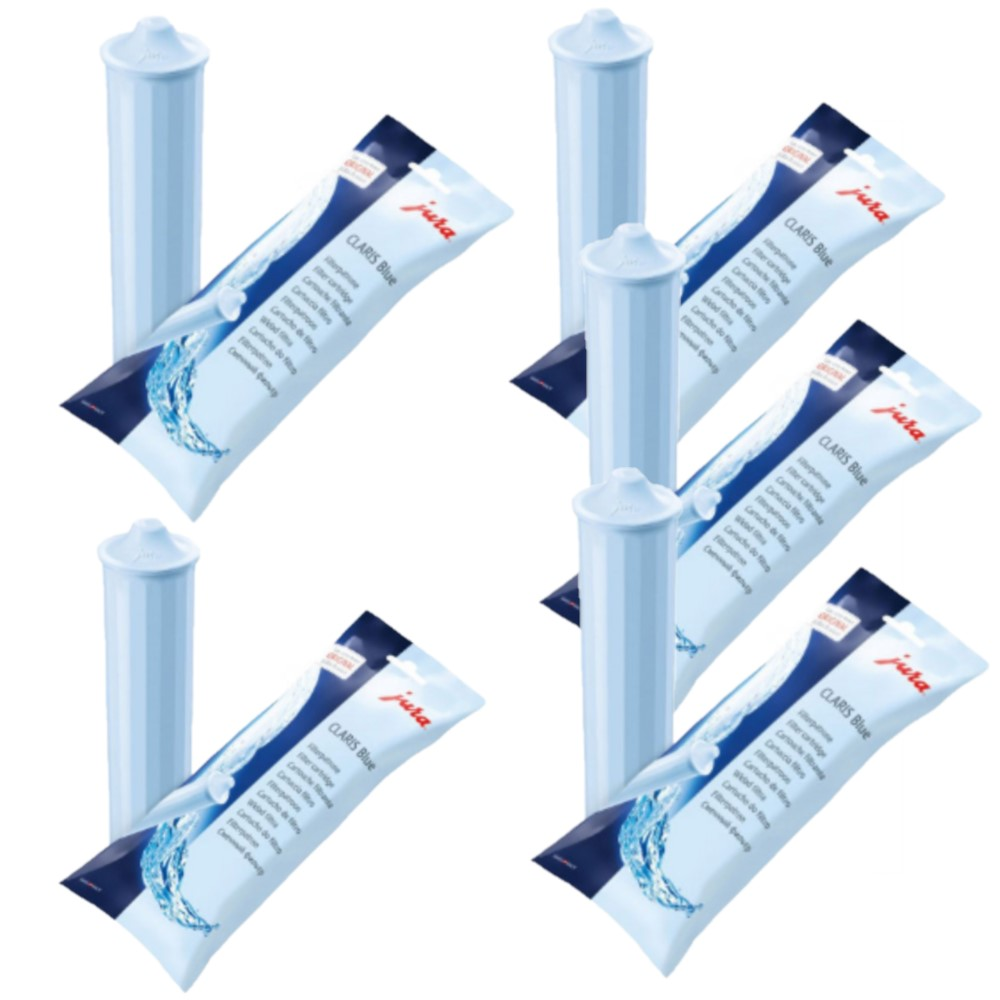 Jura Filter Cartridge CLARIS Blue Pack of 5 1
