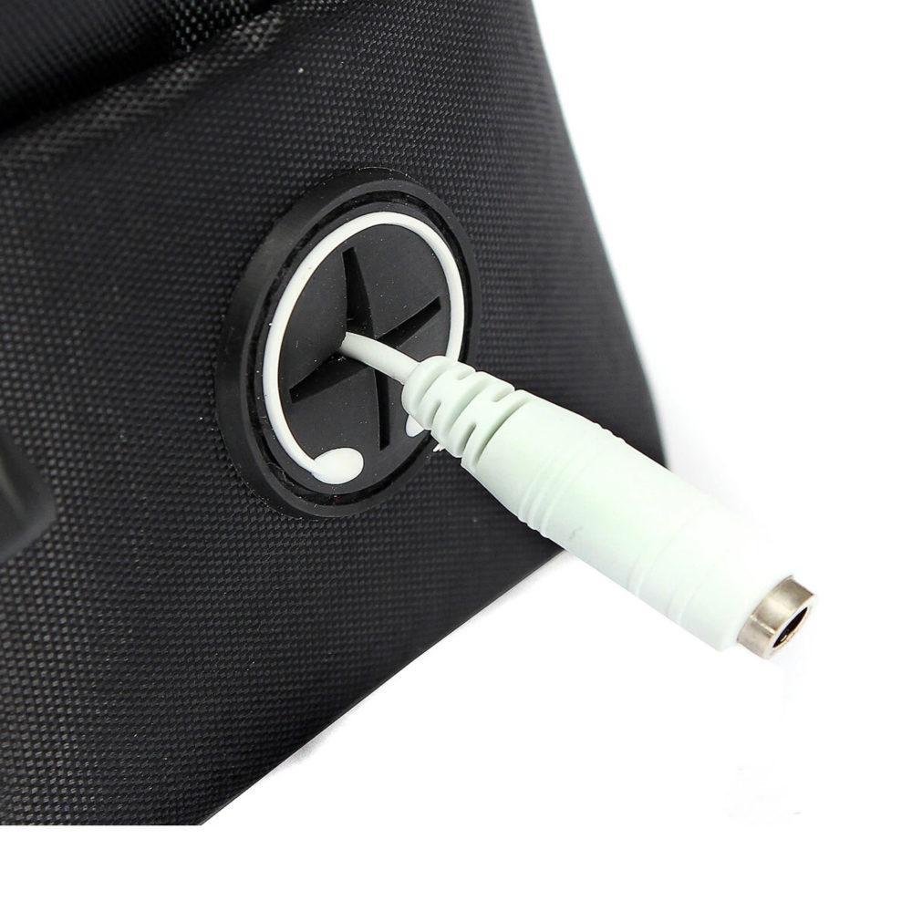 Phone Bicycle Holder & Storage Bag With Headset Jack - 3 Pack 2