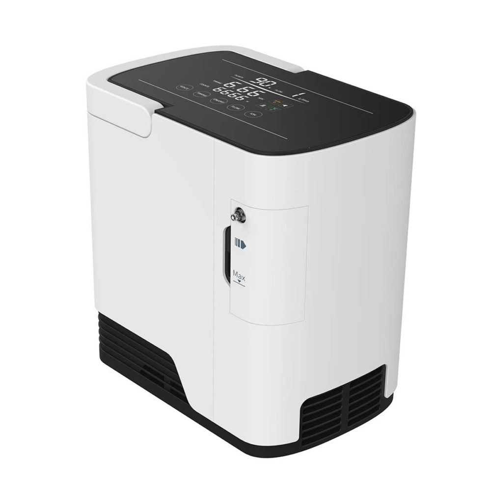 Oxygen Concentrator with Humidifier & Voice Broadcaster & Remote - 7 Litre 2
