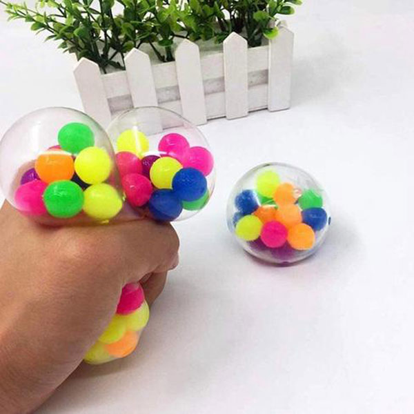 Fidget Toys - Squishy Stress Relieve DNA Ball - Washable Reusable Fidget Toy - 2 Pack 2